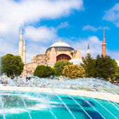 Hagia Sophia, mosque and museum in Istanbul, Turkey. — Stock Photo