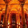 Underground Basilica Cistern, Istanbul, Turkey. — Stock Photo