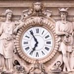 Vintage medieval ornate clock. — Stock fotografie