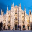 Milan Cathedral from the Square — Stock Photo #29008591