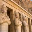 Statues of Queen Hatshepsut in Luxor (Thebes), Egypt. — Stock Photo