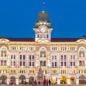 City Hall, Palazzo del Municipio, Trieste, Italy. — Stock Photo