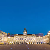 City Hall, Palazzo del Municipio, Trieste, Italy. — Stock Photo