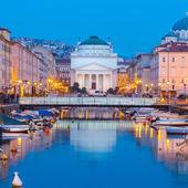 Church of St. Antonio Thaumaturgo, Trieste, Italy. — Stock Photo
