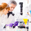 Health care professionals in lab. — Stock Photo #44108301