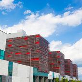 Moderna kontorsbyggnader. — Stockfoto