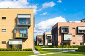 Arquitectura residencial moderna. — Foto de Stock