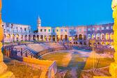 The Roman Amphitheater of Pula, Croatia. — Stock Photo