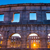 The Roman Amphitheater of Pula, Croatia. — Stock Photo