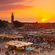 Jamaa el Fna, Marrakesh, Morocco. — Stock Photo #47114449