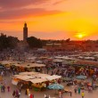 Jamaa el Fna, Marrakesh, Morocco. — Stock Photo #47114479