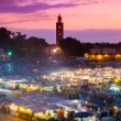 Jamaa el Fna, Marrakesh, Morocco. — Stock Photo #47114513