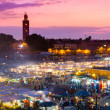 Jamaa el Fna, Marrakesh, Morocco. — Stock Photo #47114525