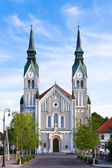 Trnovo Church in Ljubljana, Slovenia — Stock fotografie