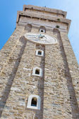 Bell tower in Piran, Slovenia. — Stock Photo