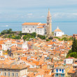 Picturesque old town Piran, Slovenia. — Stock Photo #47307953