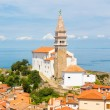 Picturesque old town Piran, Slovenia. — Stock Photo #47308157