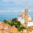 Picturesque old town Piran, Slovenia. — Stock Photo #47308331