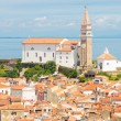 Picturesque old town Piran, Slovenia. — Stock Photo #47308475