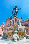 Fountain of Neptune, Bologna, Italy. — Stock Photo