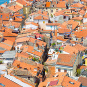 Picturesque old town Piran, Slovenia. — Stock Photo