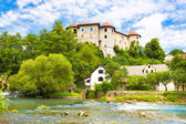 Zuzemberk Castle, Slovenian tourist destination. — Photo