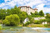 Zuzemberk Castle, Slovenian tourist destination. — Stock fotografie