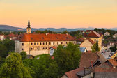Panorama of Metlika, Slovenia, Europe. — Stock Photo