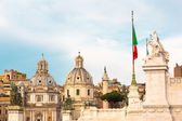Piazza Venezia, Rome, Italy — Stock Photo