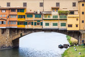 Ponte Vecchio, Florence, Italy. — Stock Photo