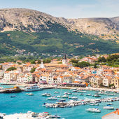 Baska, Krk, Croatia, Europe. — Stock Photo