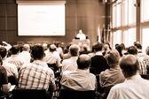 Trade union advisory committee meeting. — Stock Photo