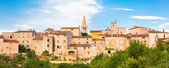 Panoramic view of Bale village, Croatia. — Stock Photo