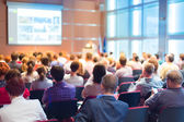 Audience at the conference hall. — Stock Photo