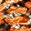 Royalty-Free Stock Photo: Meat on BBQ