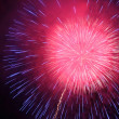 Firework on night sky — Stock Photo #12289890