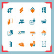 Home renovation icons | In a frame series — Stockfoto