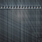 Black jeans texture — Stock Photo