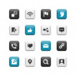 Royalty-Free Stock Photo: Communication buttons