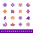 Abstract design symbols - Foto Stock