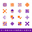 Abstract design symbols - Stock Photo