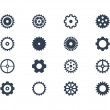 Gear icons — Stock Photo #30870623