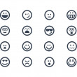 Stock Photo: Emoticons