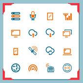 Wireless technology — Stock Vector