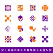 Abstract design icons — Stock Vector #42467199