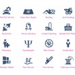 Service icons — Stock Vector