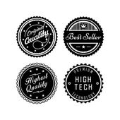 Vintage badges 2 — Stock vektor