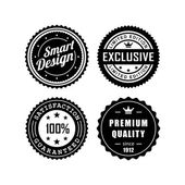 Vintage badges 3 — Stock Vector