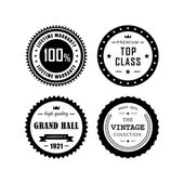 Vintage badges 4 — Stock Vector