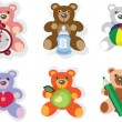 BABY ICONS,TEDDY BEAR. — Foto Stock